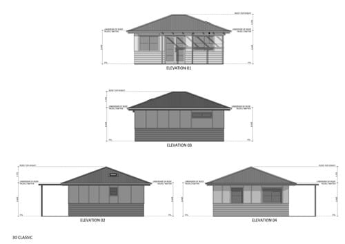 Elevations Design 30