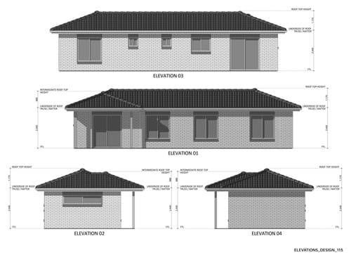 Elevations Design 115