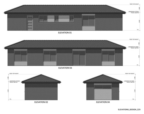 Elevations Design 225