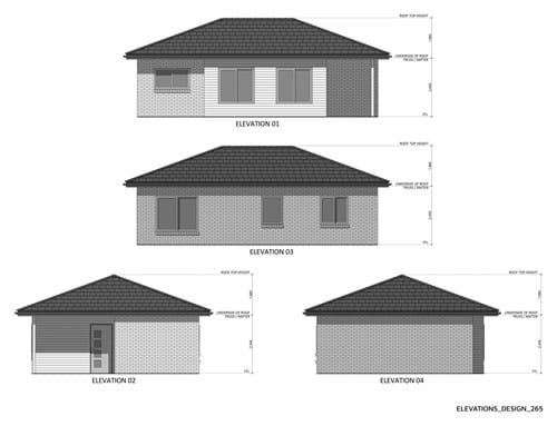 Elevations Design 265
