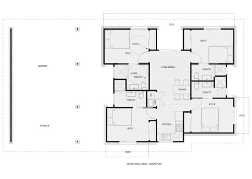 Floor Plan Design 485