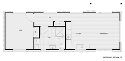 Floor Plan Design 115