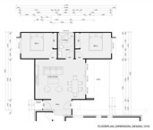 Design 1210 - Dimension Floor Plan
