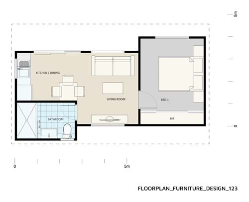 Floor Plan Furniture Design 123