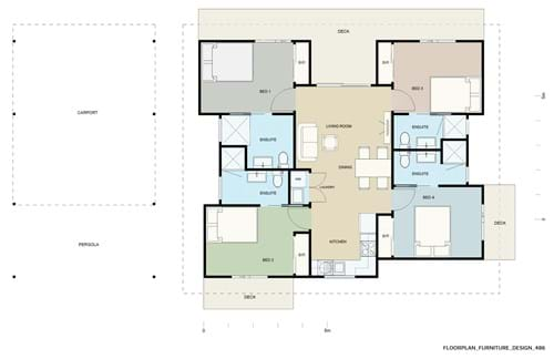 Floor Plan Furniture Design 486
